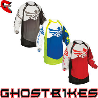 View Item Fly Racing 2014 Evolution Clean Motocross Jersey