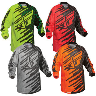 View Item Fly Racing 2014 Kinetic Shock Motocross Jersey