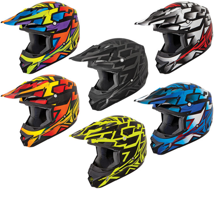 Fly Racing Kinetic Block Out Motocross Helmet
