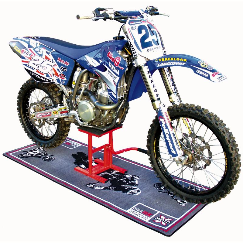 biketek motocross enduro moto trails bike mx lift stand ebay. Black Bedroom Furniture Sets. Home Design Ideas