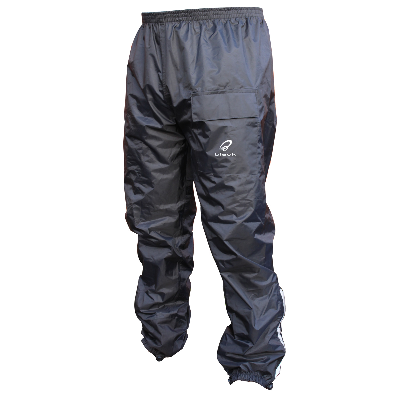 black flare tanche pantalon de moto scooter impermiable textile surpantalon ebay. Black Bedroom Furniture Sets. Home Design Ideas