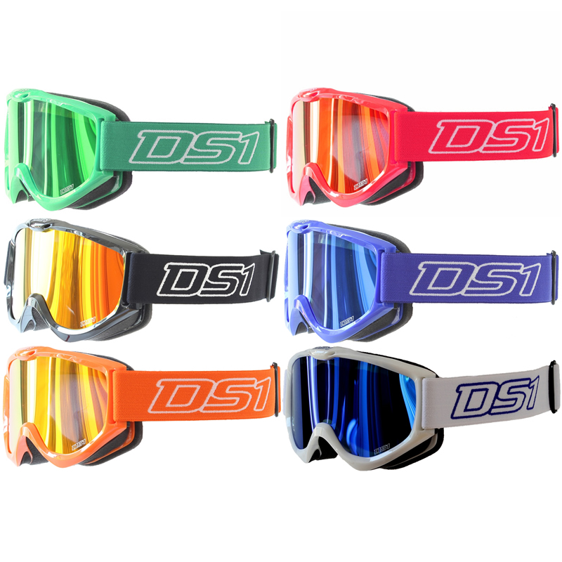 Ds1 Hype X Adult Tinted Lens Mx Enduro Atv Anti Fog Quad Motocross