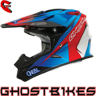 View Item Oneal 9 Series Race Motocross Helmet