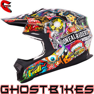 View Item Oneal 7 Series Crank Motocross Helmet