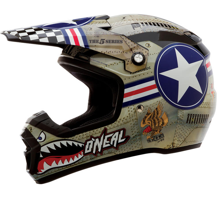 Oneal 2014 5 Series Wingman Motocross Helmet