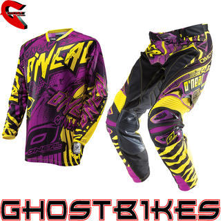 View Item Oneal Hardwear 2014 Automatic Purple-Yellow Motocross Kit