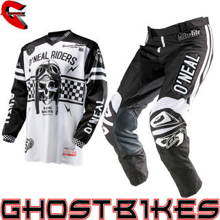 View Item Oneal 2014 Ultra Lite LE 70 Black-White Motocross Kit