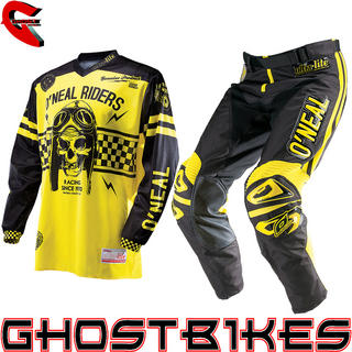 View Item Oneal 2014 Ultra Lite LE 70 Black-Yellow Motocross Kit