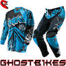 View Item Oneal Mayhem 2014 Vented Roots Black-Blue Motocross Kit