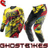 View Item Oneal Element Kids 2014 Acid Yellow-Red Motocross Kit