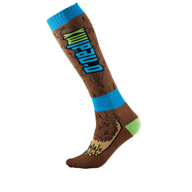 Oneal Pro MX BigFoot Socks Brown Blue