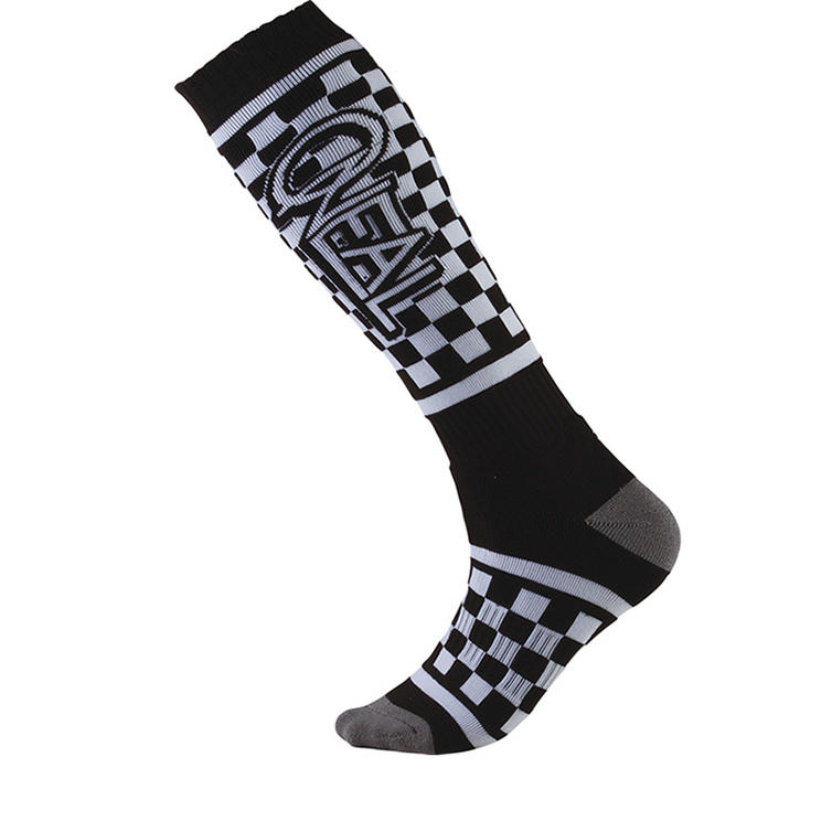 Oneal Pro MX Victory Socks Black White