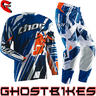 View Item Thor Flux S14 Shred Blue Motocross Kit