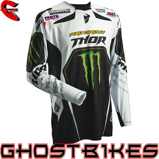View Item Thor Core S14 Pro Circuit Motocross Jersey