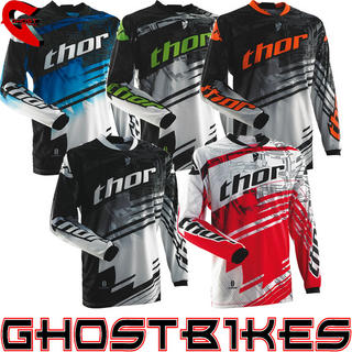 View Item Thor Phase S14 Swipe Motocross Jersey