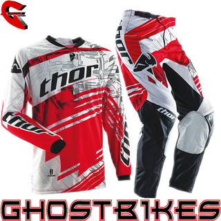 View Item Thor Phase S14 Swipe Red Motocross Kit