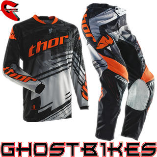 View Item Thor Phase S14 Swipe Orange Motocross Kit