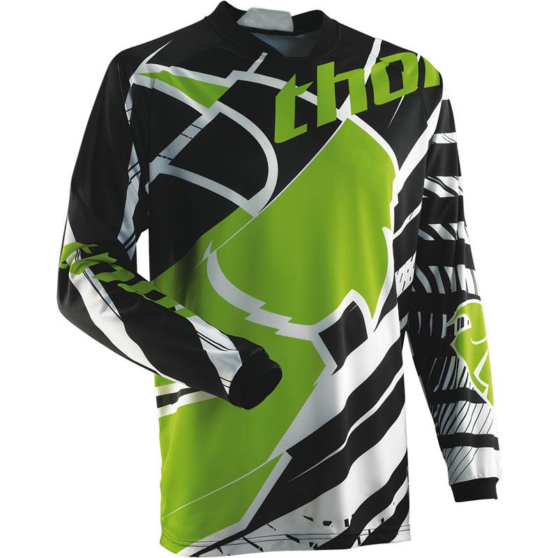 THOR-2014-PHASE-S14-MASK-MX-RACE-SHIRT-MOTO-X-OFF-ROAD-ENDURO-MOTOCROSS-JERSEY