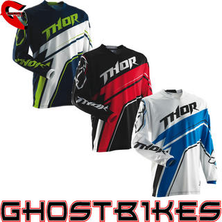 View Item Thor Phase S14 Stripe Motocross Jersey