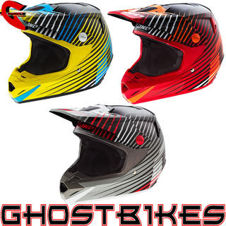 View Item One Industries 2014 Atom Fragment Motocross Helmet