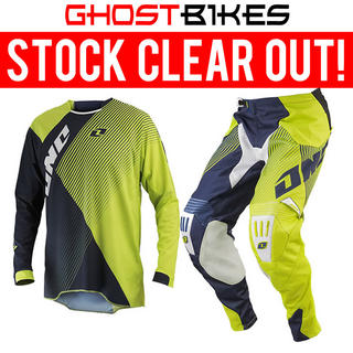 View Item One Industries 2014 Gamma Czar Navy-Chartreuse Motocross Kit