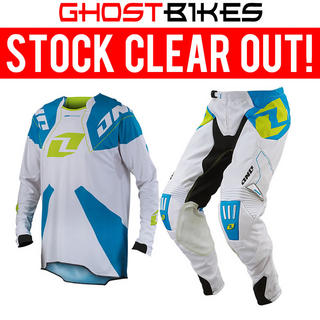 View Item One Industries 2014 Gamma White-Cyan Motocross Kit