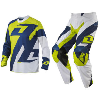 View Item One Industries 2014 Atom Traverse Navy-Chartreuse Motocross Kit