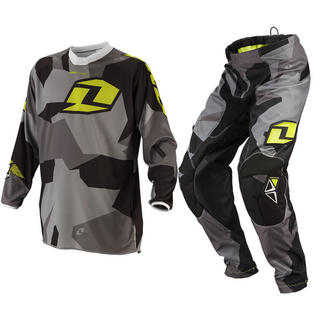 View Item One Industries 2014 Youth Atom Camoto Black-Grey Motocross Kit