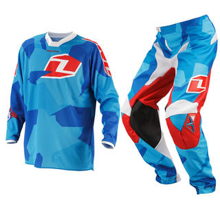 View Item One Industries 2014 Youth Atom Camoto Blue Motocross Kit