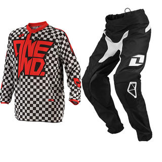 View Item One Industries 2014 Youth Atom Chex Red Motocross Kit