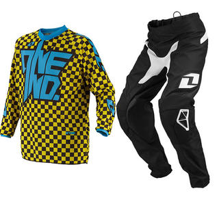 View Item One Industries 2014 Youth Atom Chex Yellow Motocross Kit