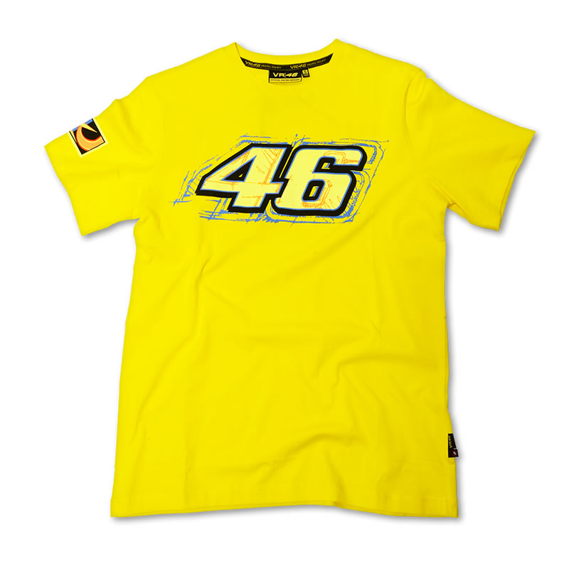 valentino rossi 46 vr46 official racing apparel shirt t. Black Bedroom Furniture Sets. Home Design Ideas