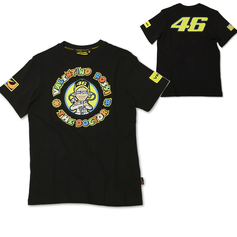 valentino rossi 46 vr46 the doctor official racing shirt t. Black Bedroom Furniture Sets. Home Design Ideas