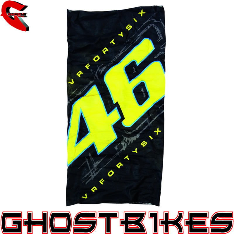 valentino rossi vr46 number 46 neck tube balaclava. Black Bedroom Furniture Sets. Home Design Ideas