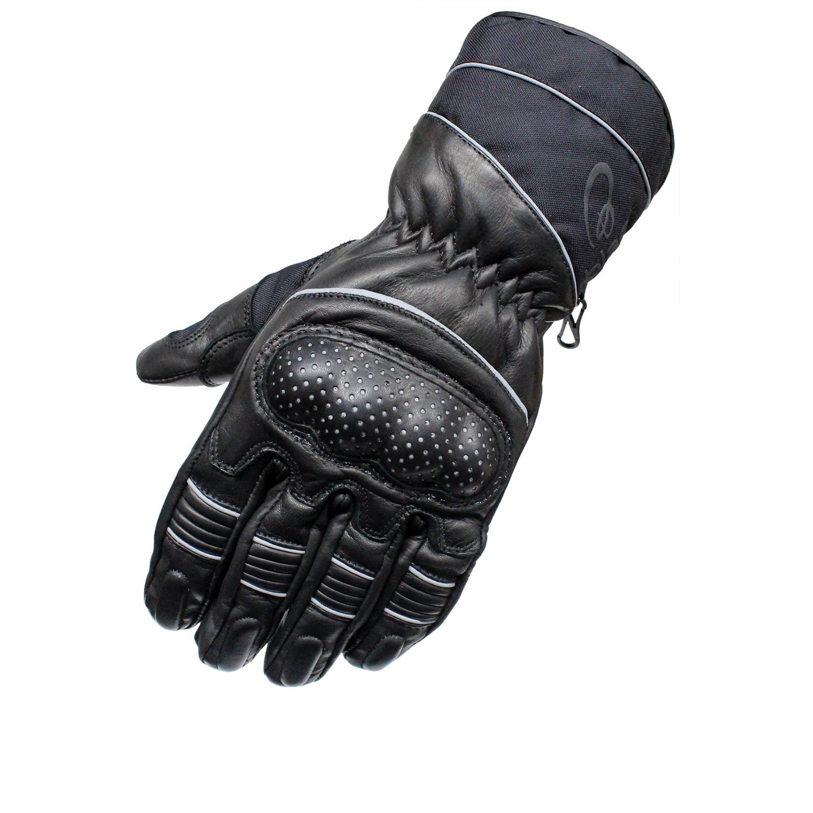 Black Vector Leather Motorcycle Motorbike Waterproof All
