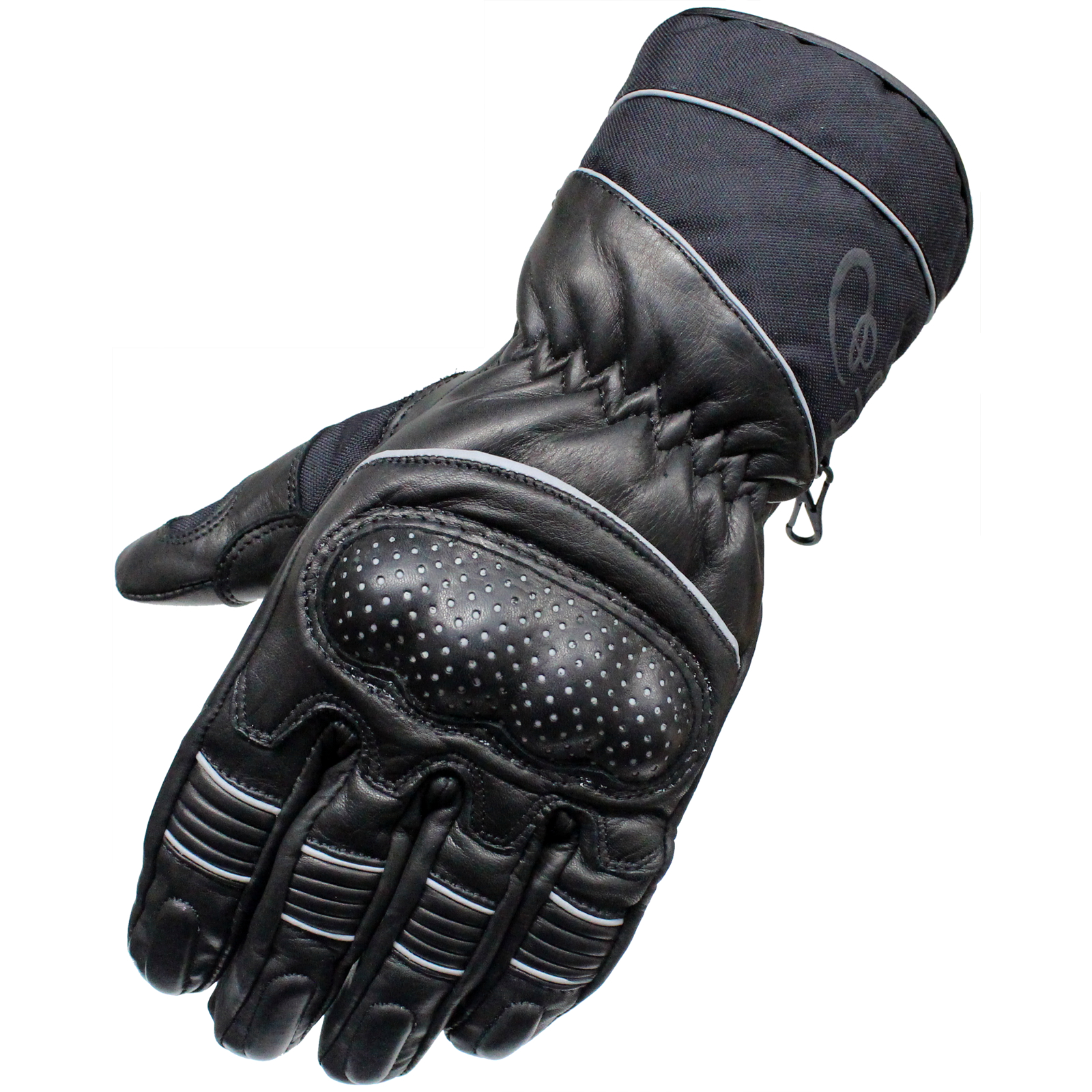 Insulated leather motorcycle gloves - Mens Winter Thermal Waterproof Leather 3m Thinsulate Motorcycle