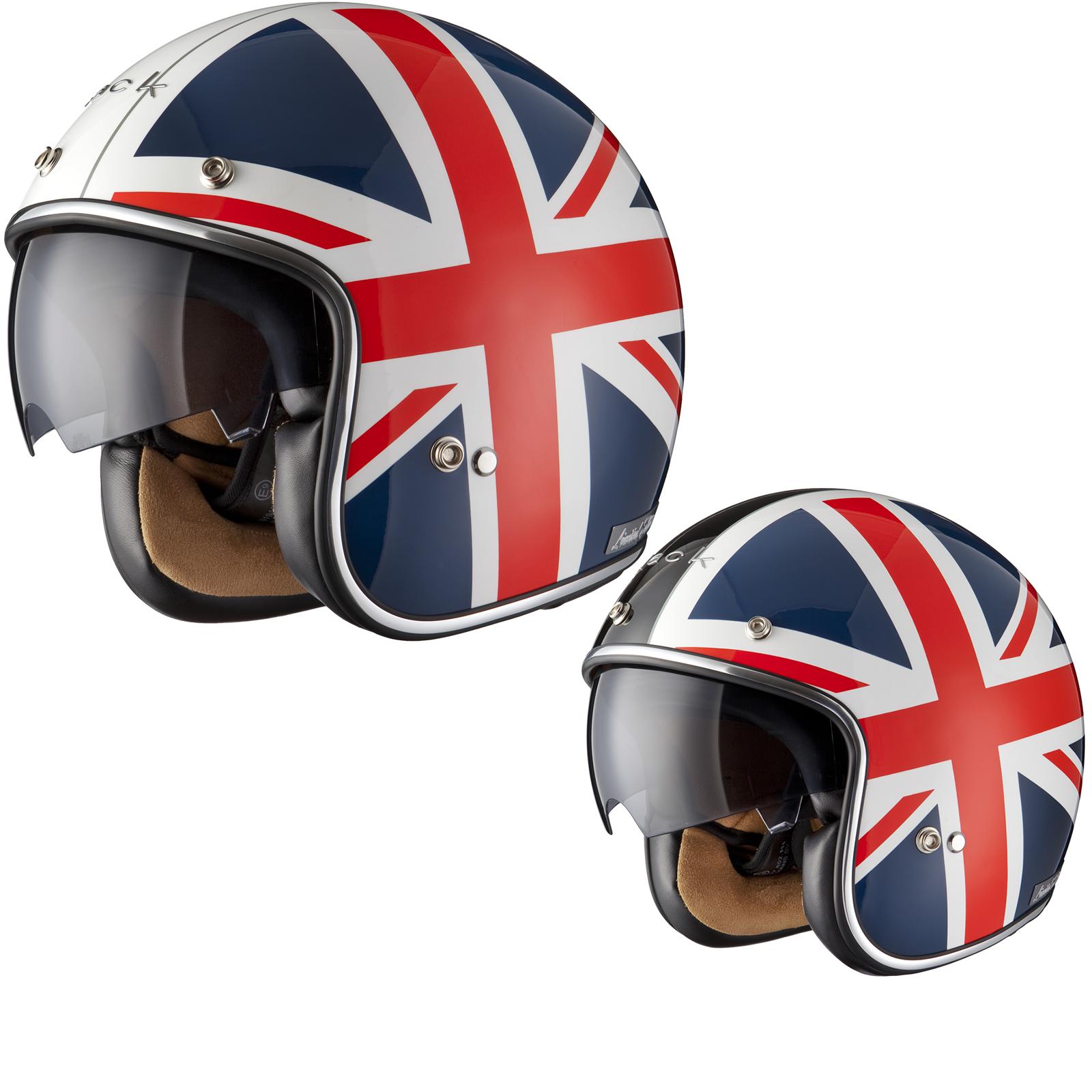 Casque a moto en anglais