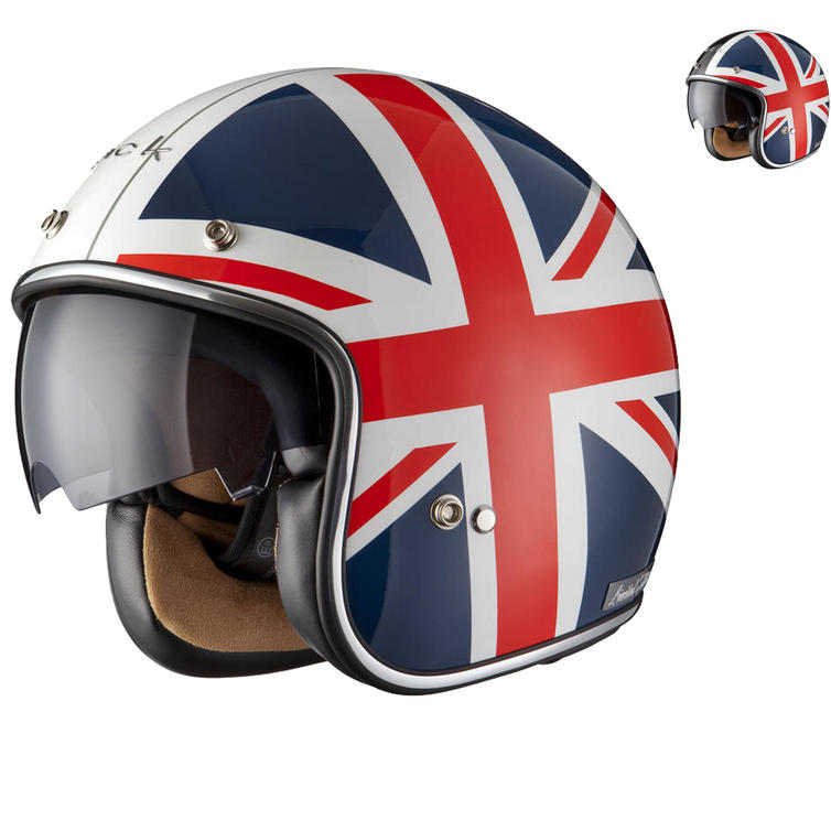 Black Jack Limited Edition Motorcycle Helmet