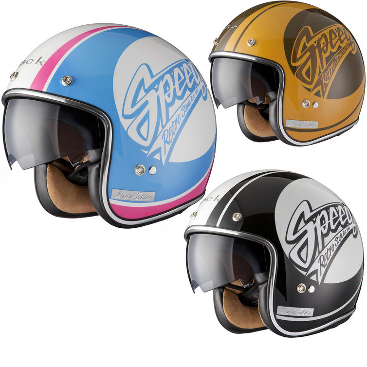 Black Jam Limited Edition Motorcycle Helmet
