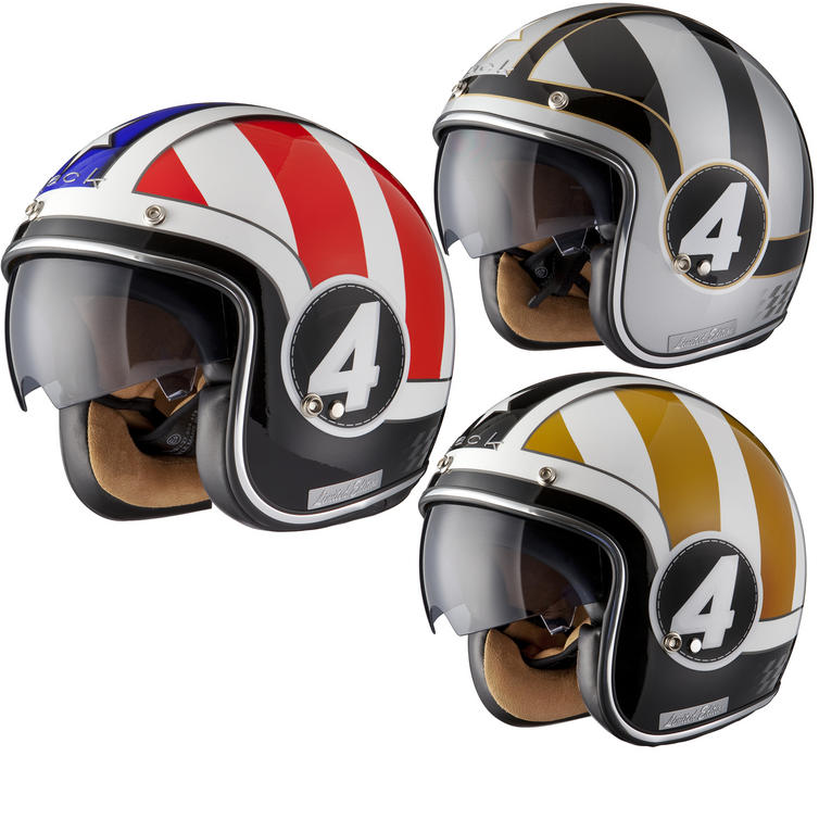 Black Judge Limited Edition Motorcycle Helmet