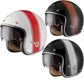 Black Stripe Limited Edition Motorcycle Helmet