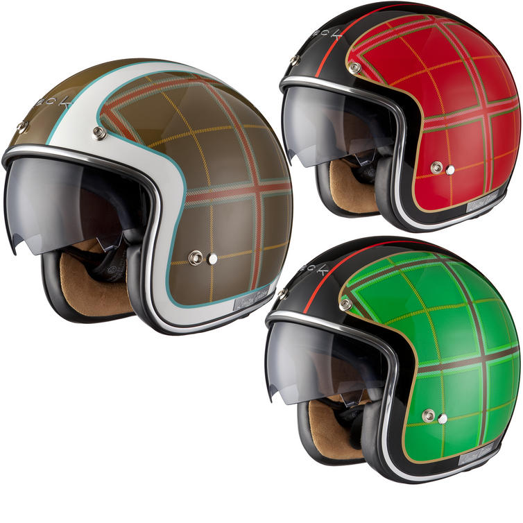 Black Highland Limited Edition Motorcycle Helmet