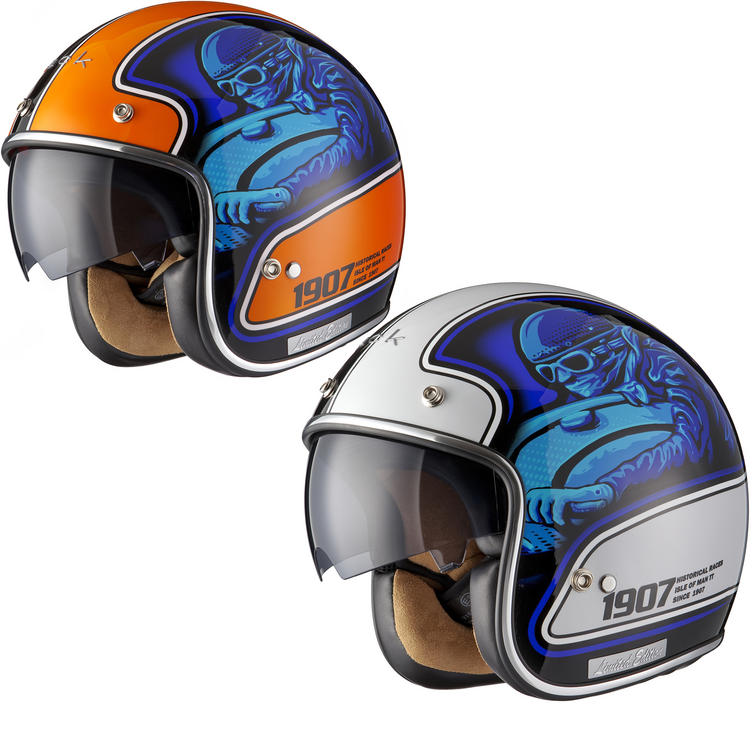 Black Moto-Racer Limited Edition Motorcycle Helmet