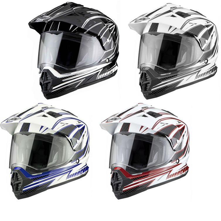 THH TX-26 #3 Dual Sport ACU Motocross Helmet
