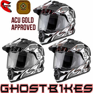 View Item THH TX-26 #1 Sharp Dual Sport ACU Motocross Helmet