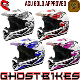 View Item Shox MX-1 Voltage ACU Motocross Helmet