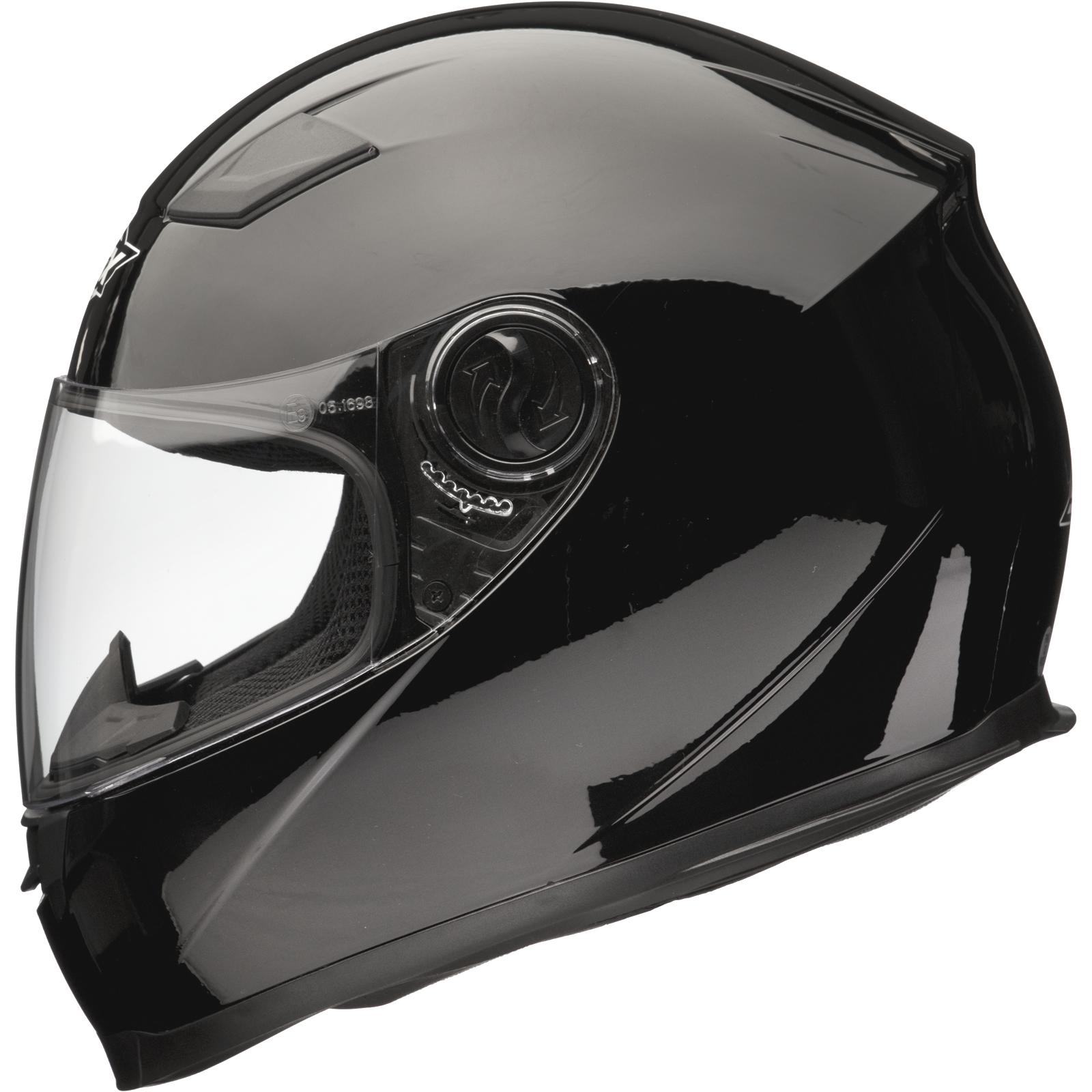 Shox Sniper Full Face Acu Gold Approved Motorbike