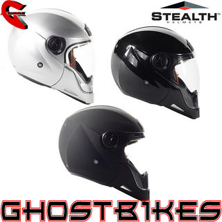 View Item Stealth HD190 Transformer Motorcycle Helmet
