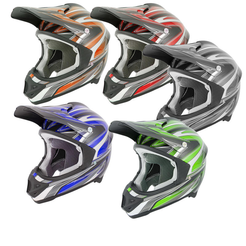 View Item Stealth HD203 Edge Motocross Helmet