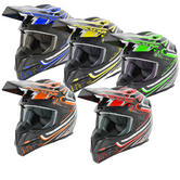 Stealth HD210 Droid Motocross Helmet